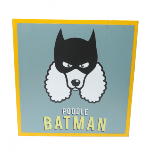 Cuadros decorativos superherores Pet Gifts Poodle Batman