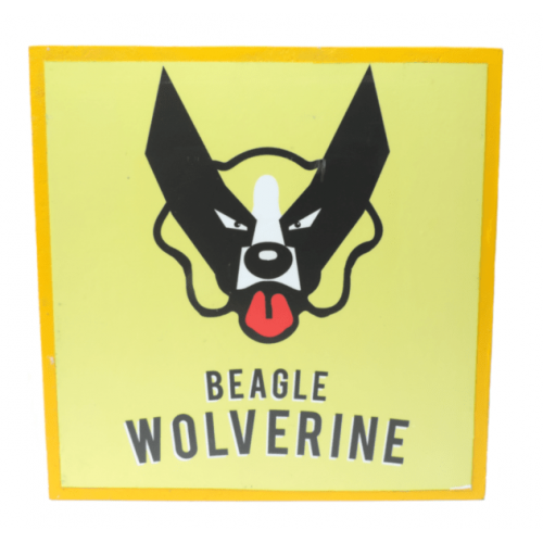 Cuadros decorativos superherores Pet Gifts Beagle Wolverine