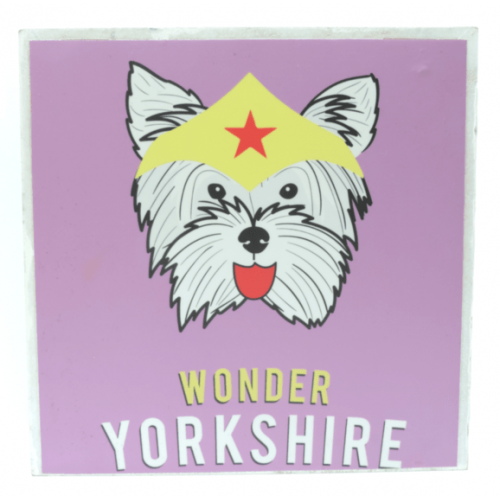 Cuadros decorativos superherores Pet Gifts Wonder Yorkhire