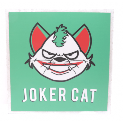 Cuadros decorativos superherores Pet Gifts Joker Cat
