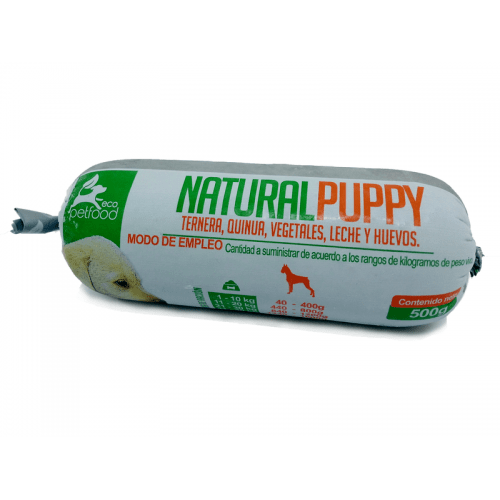 natural puppy eco pet food wuawi dieta barf