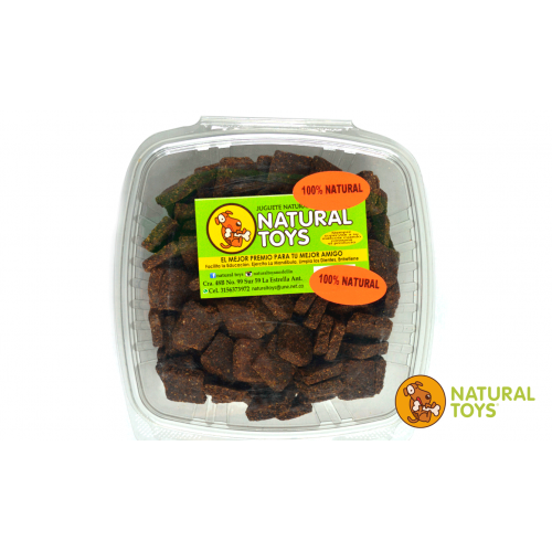 Brownies Natural Toys Carne Proteina Fibra 1 Kg