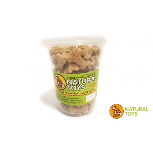 Galleta Natural Toys Huesito Fibra 500 gramos