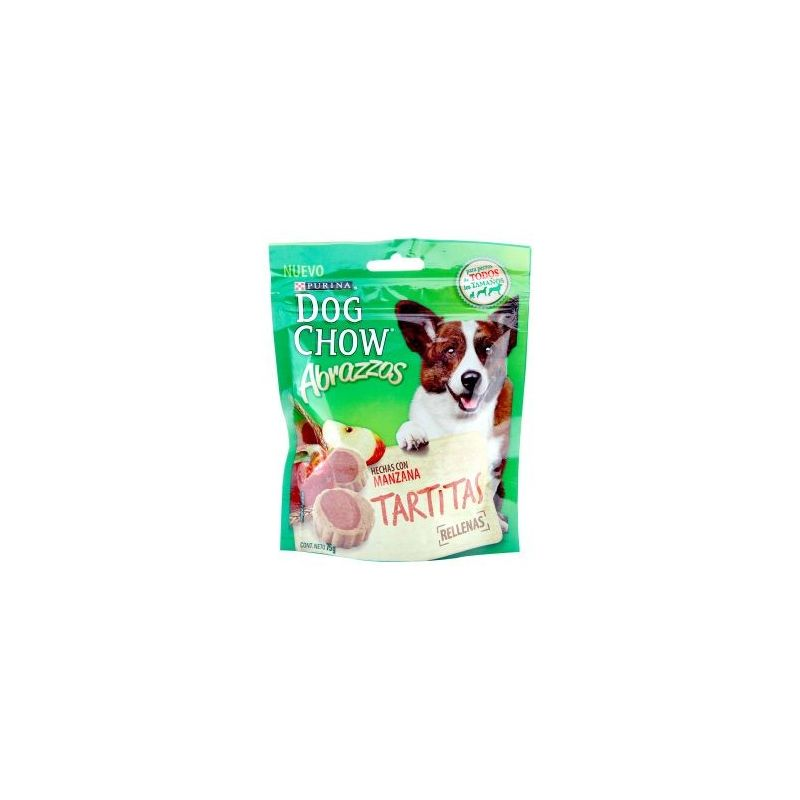 Gomas Dog Chow 75G Tartitas-Multicolor